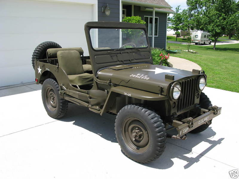 classic military vehicles your source for vintage flat fender jeeps and parts 479 323 7039. Black Bedroom Furniture Sets. Home Design Ideas