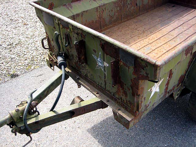 Jeep Trailer Hitch >> 1951 M100 1/4 TON TRAILER / SOLD | Classic Military Vehicles