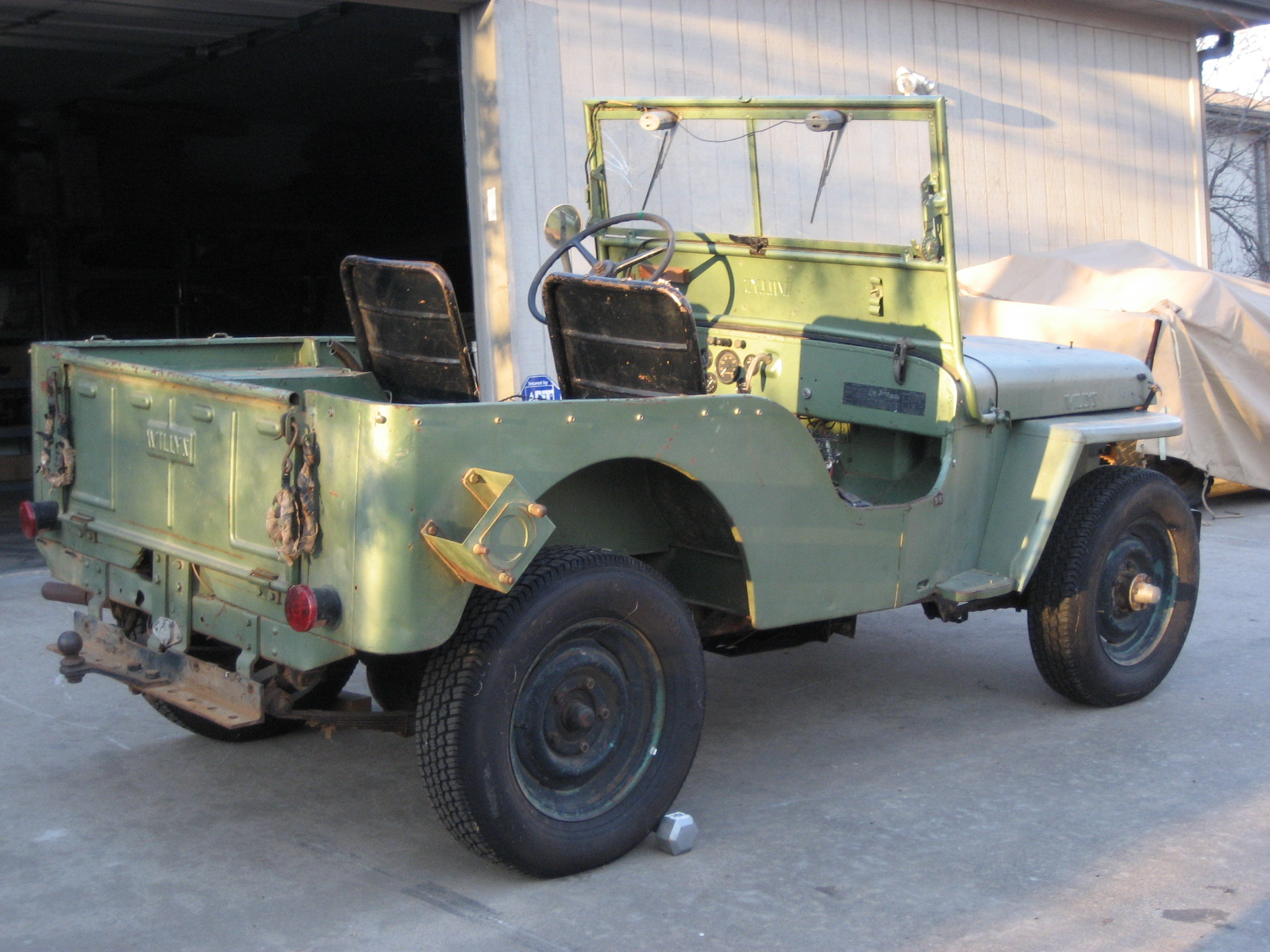 1946 Willys Cj2a Classic Military Vehicles