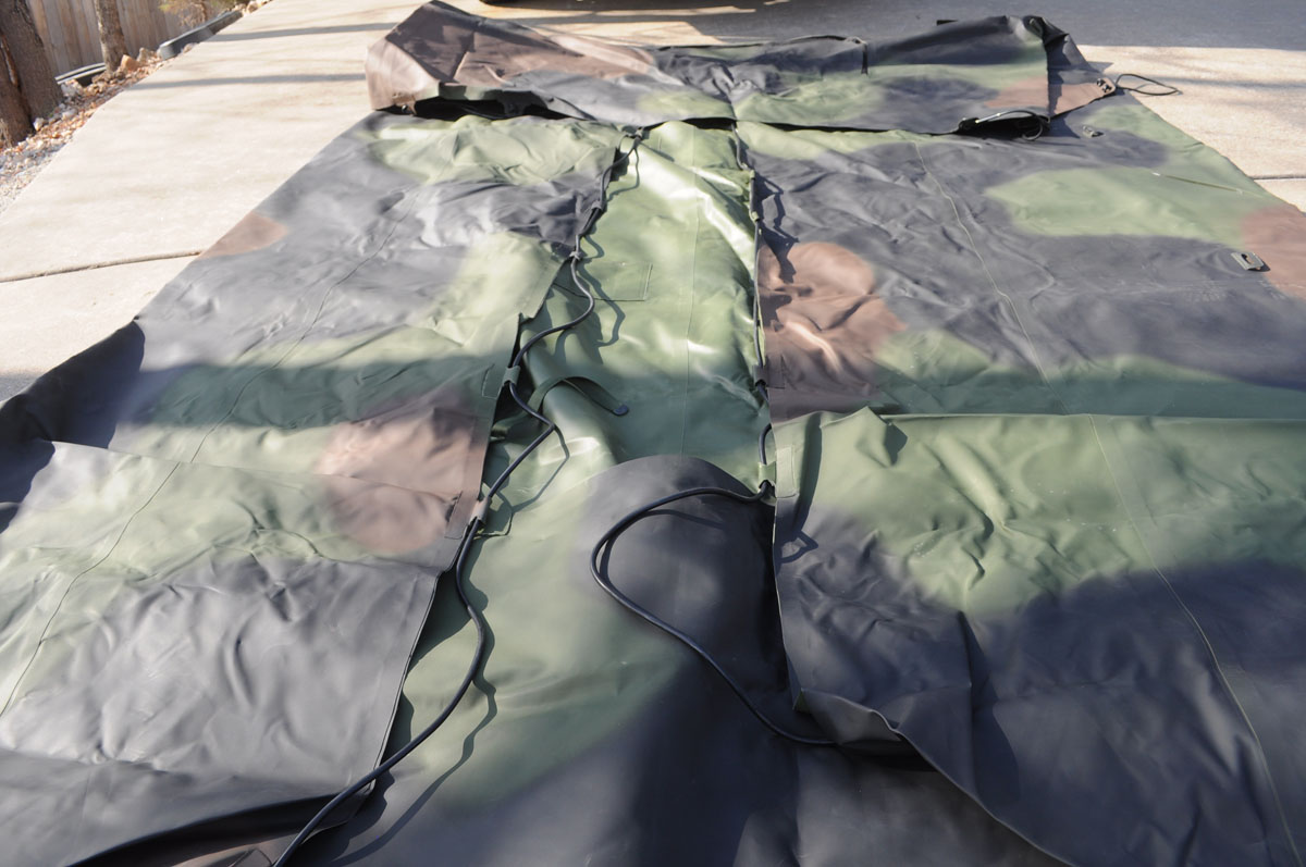 M35 Duce Amp A Half Cargo Cover Sold Classic Military