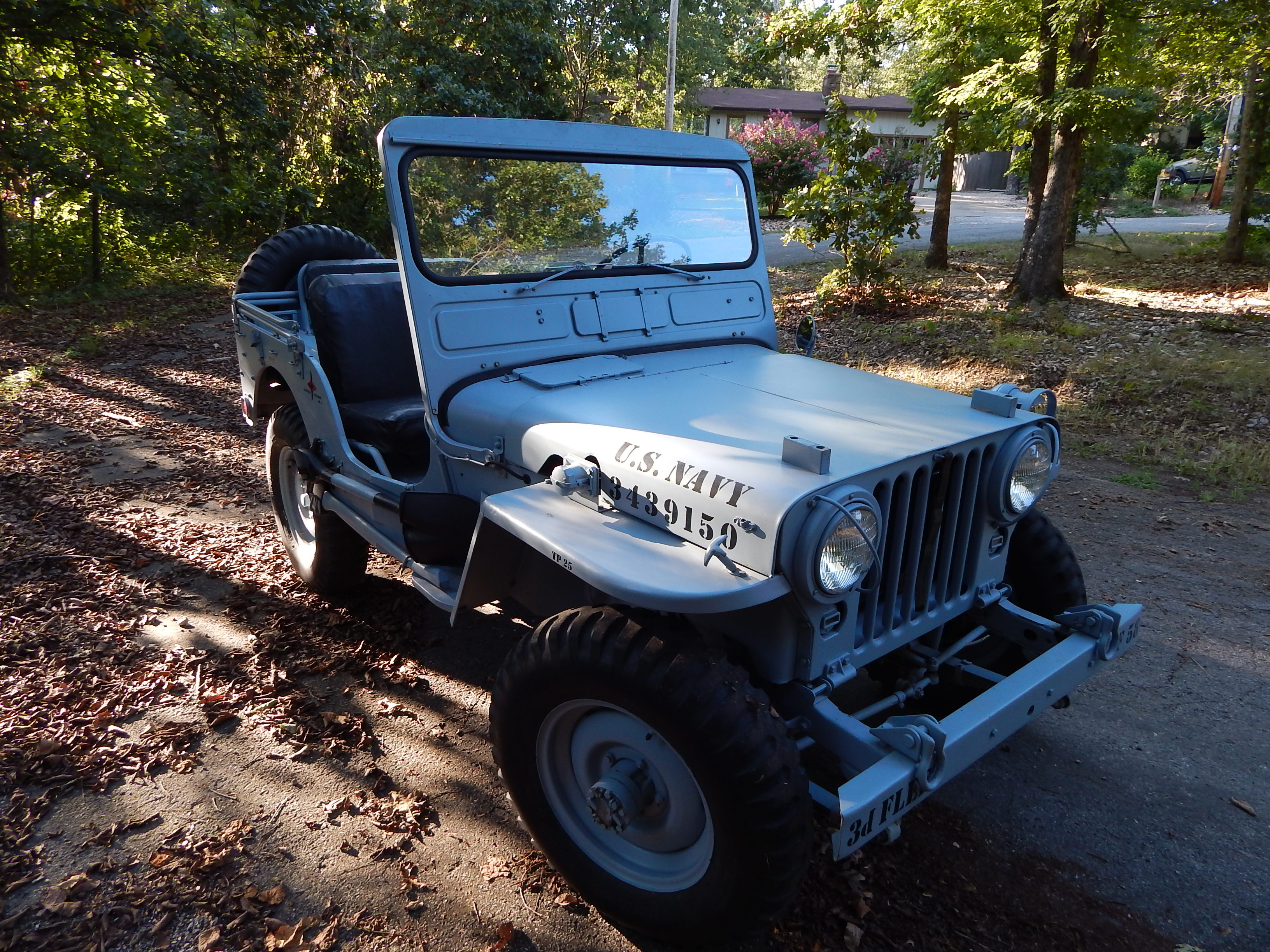 1952 Willys M38 Navy Jeep | Clic Military Vehicles