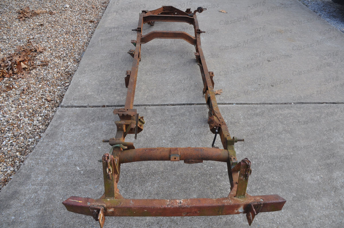 Willys Jeep For Sale >> Willys CJ2A Frame for Sale | Classic Military Vehicles