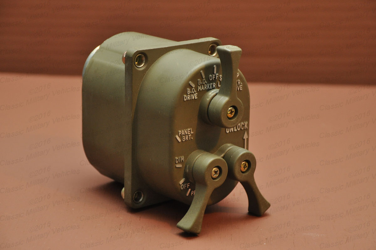 Military Light Switch, M Series | Classic Military Vehicles