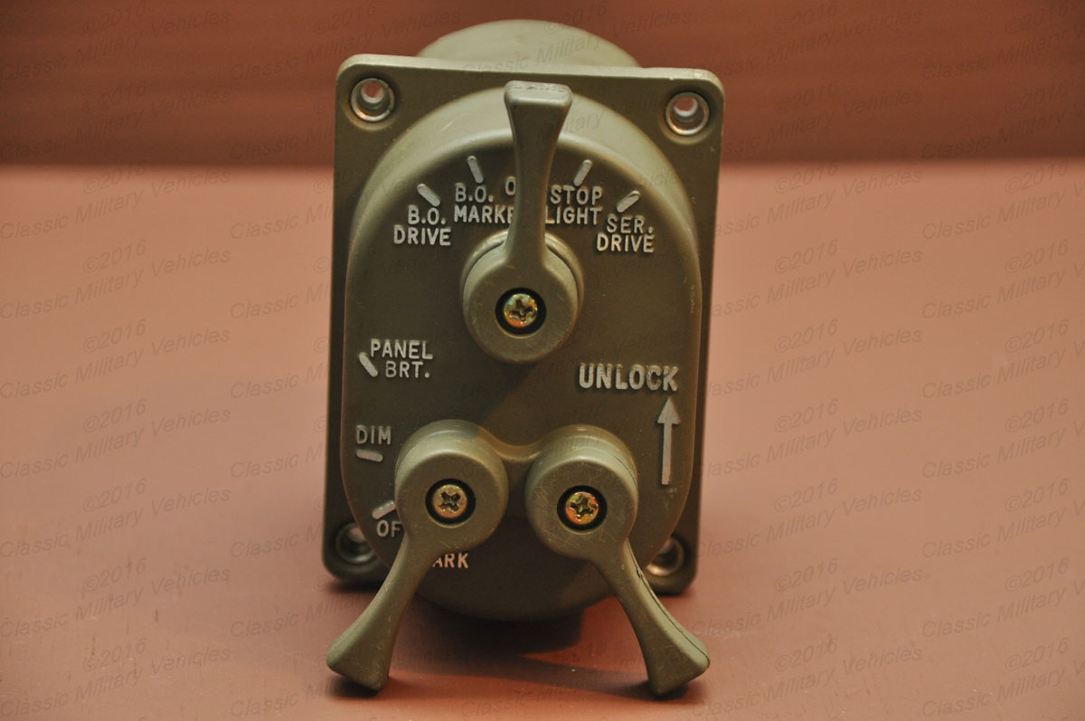 Jeeps For Sale >> Military Light Switch, M Series | Classic Military Vehicles