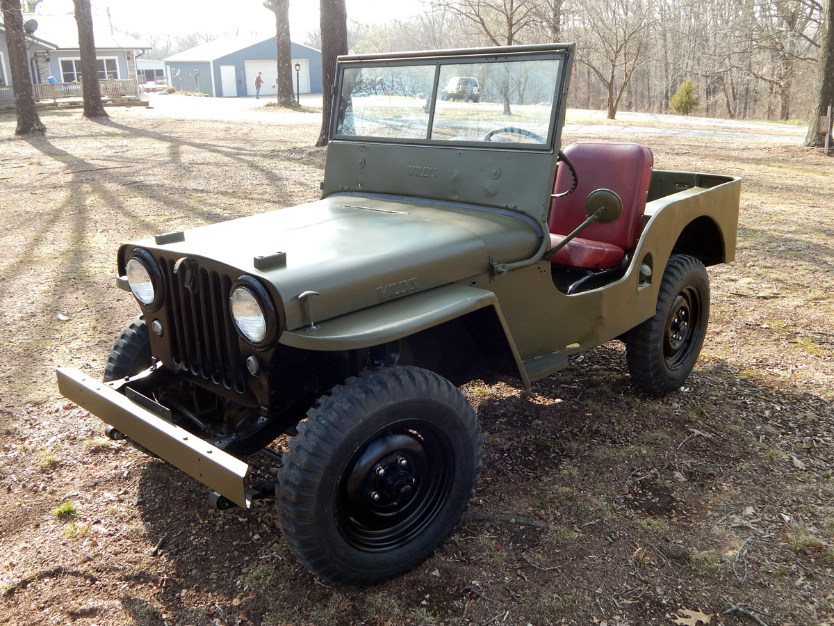 Willys Jeep For Sale >> 1946 Willys CJ2A | Classic Military Vehicles