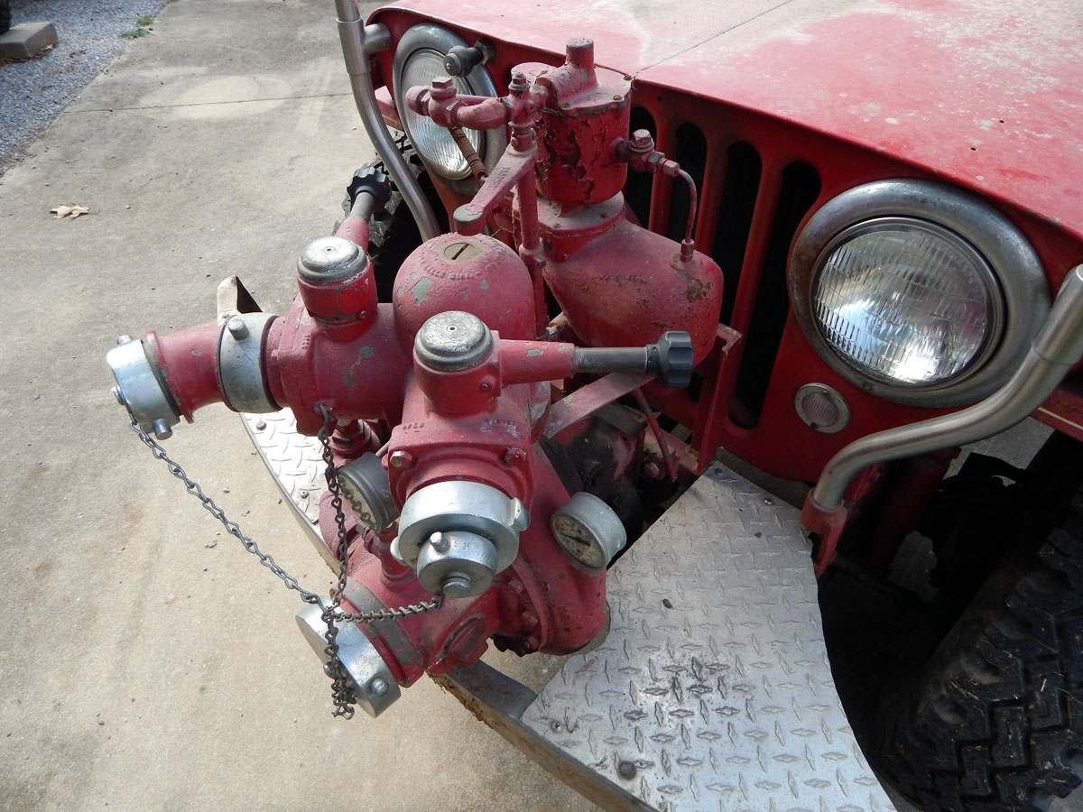 Military Jeeps For Sale >> 1949 Willys CJ3A Fire Engine Jeep. Boyer Conversion. Very Original / Barn Find. | Classic ...