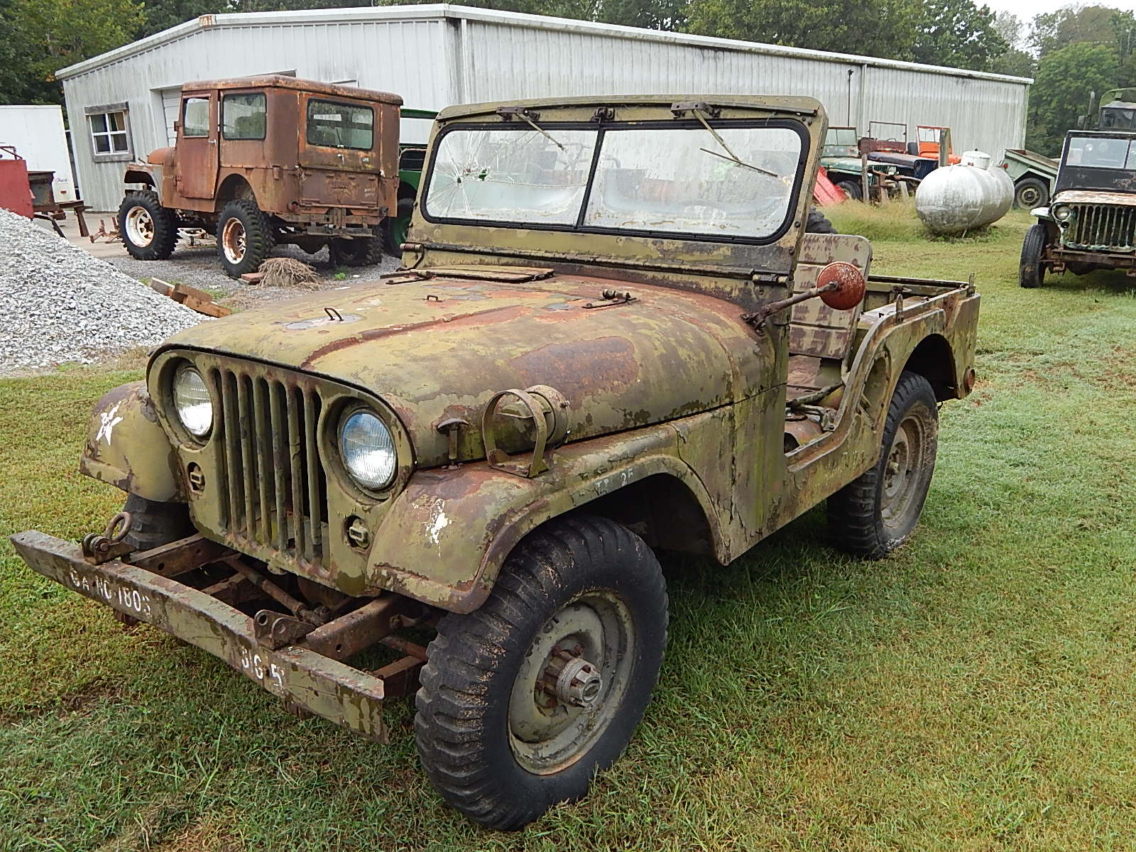 1954 Willys M38a1 Army Jeep For Sale Classic Military Vehicles