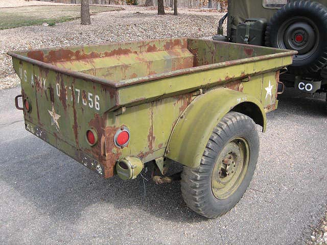 Military Jeeps For Sale >> 1951 M100 1/4 TON TRAILER / SOLD | Classic Military Vehicles