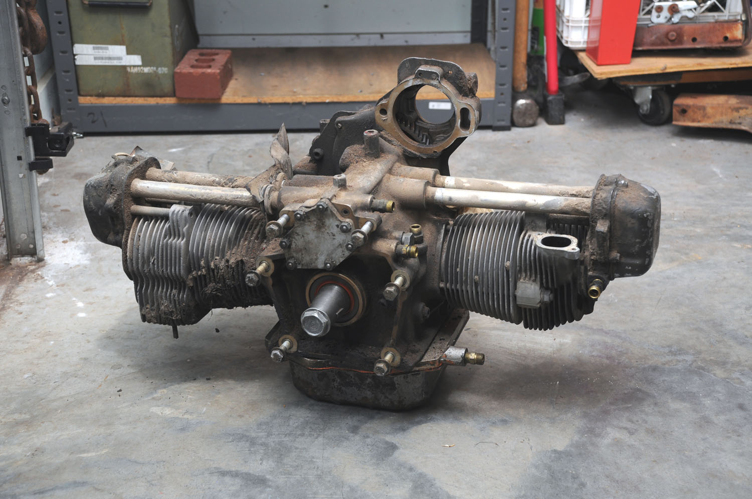 Military Jeep Parts >> M274 2 Cylinder Mule Engine | Classic Military Vehicles