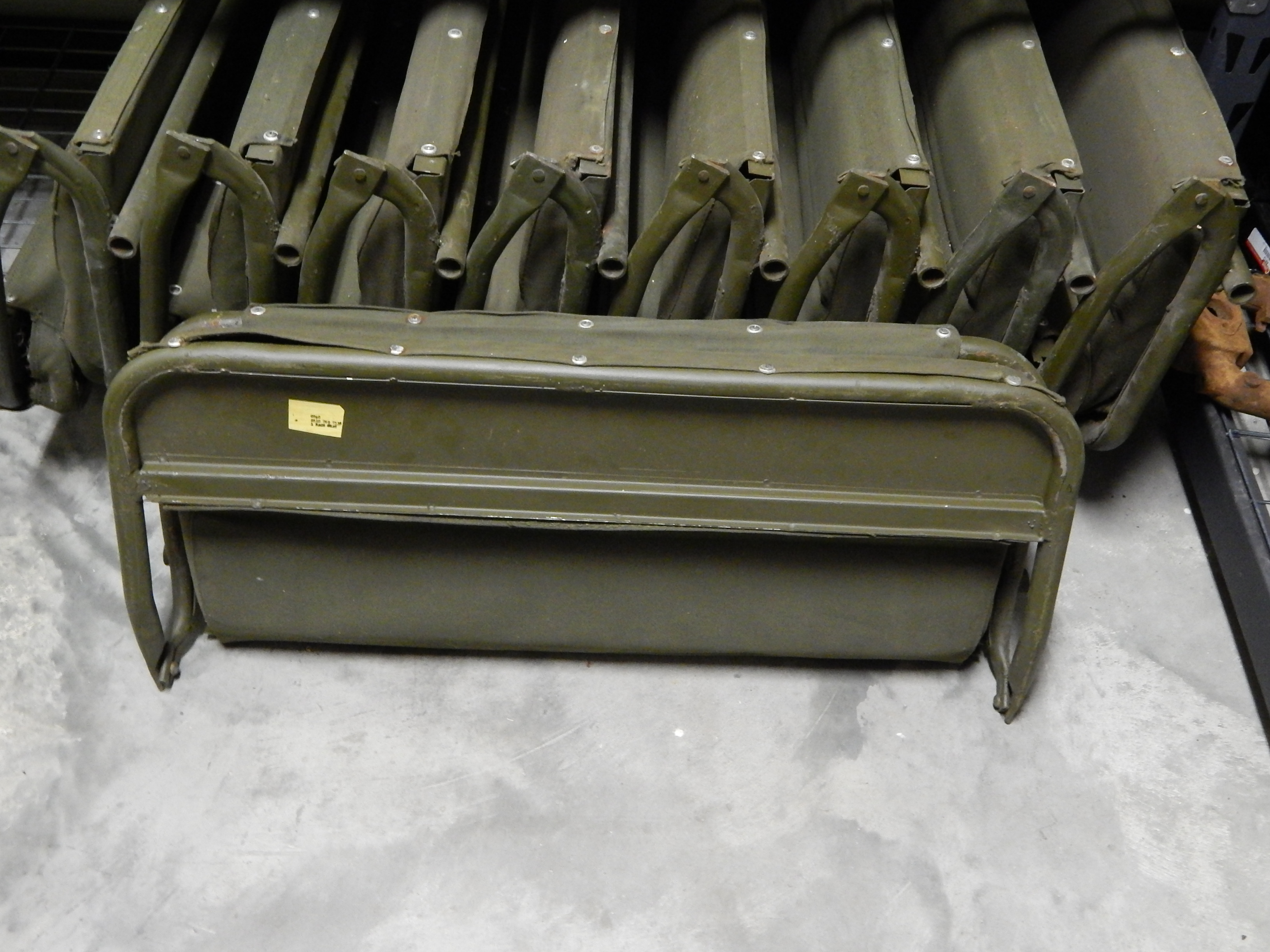 Willys Military Jeep Sale >> M38 M38A1 Rear Seat NOS | Classic Military Vehicles