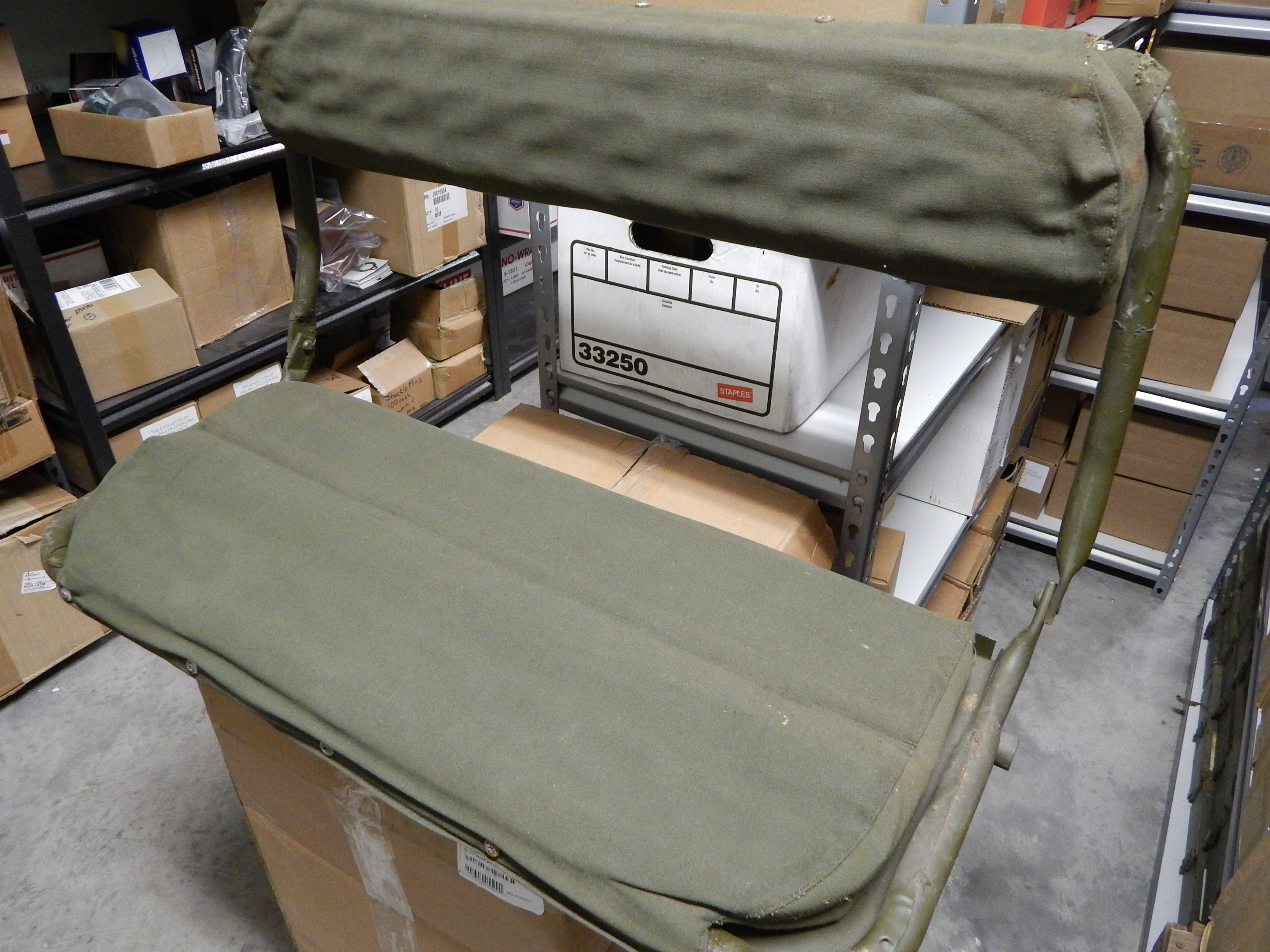 Military Vehicles For Sale >> M38 M38A1 Rear Seat NOS | Classic Military Vehicles