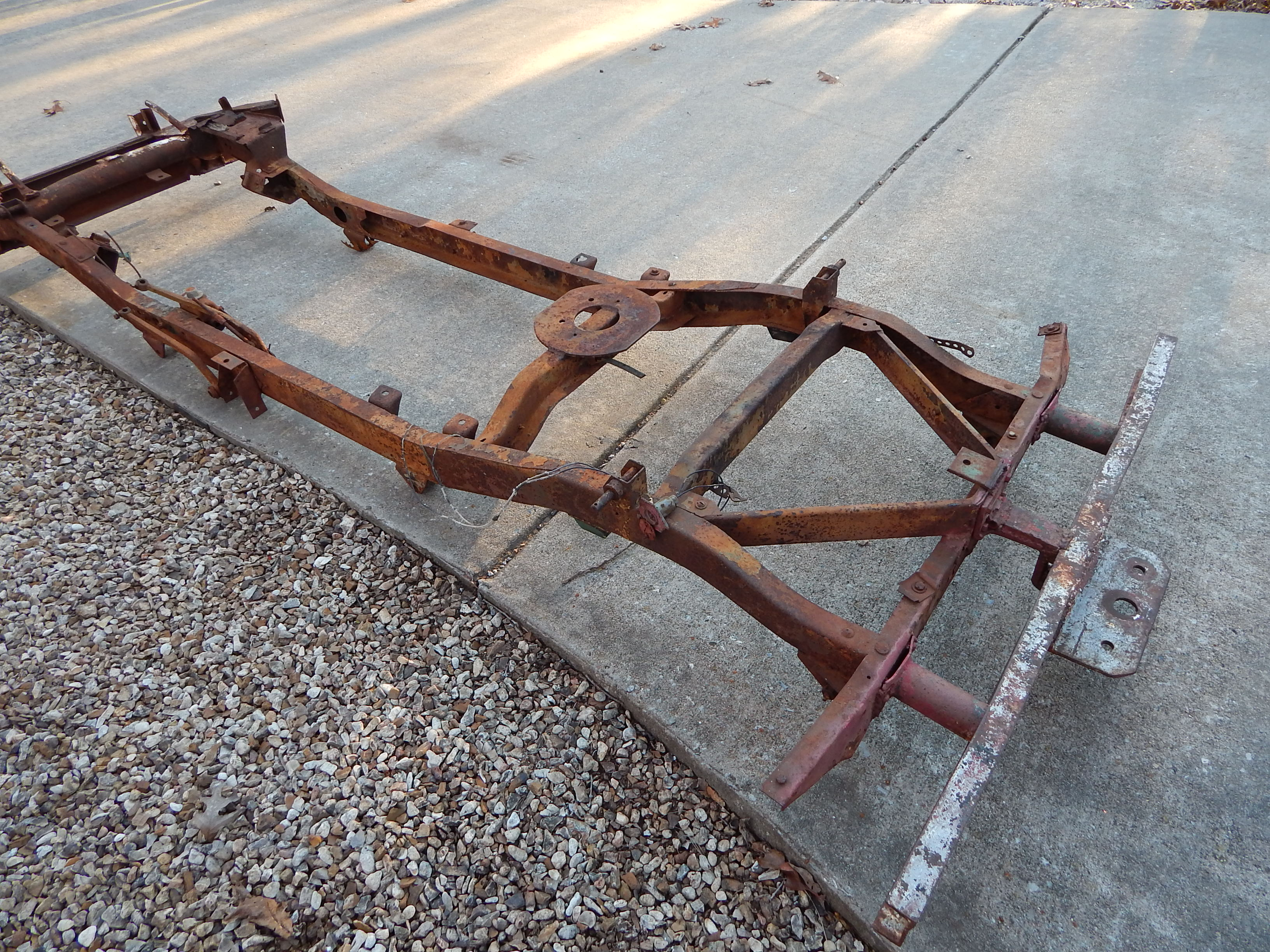 Willys Jeep For Sale >> 1945 Willys MB Frame For Sale   Classic Military Vehicles