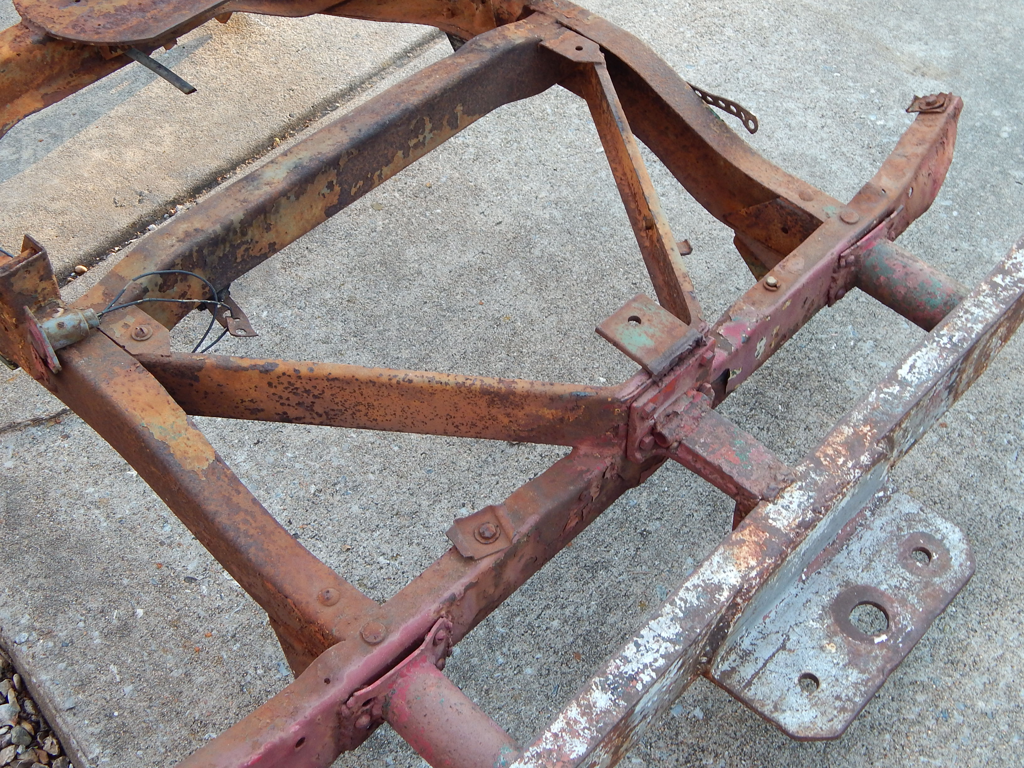 Willys Jeeps For Sale >> 1945 Willys MB Frame For Sale | Classic Military Vehicles