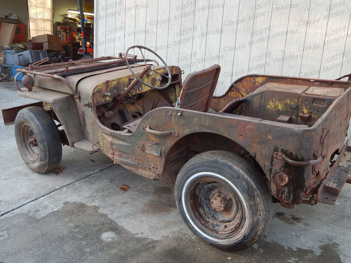 Ford GPW Parts Jeep for Sale / SOLD   Classic Military Vehicles