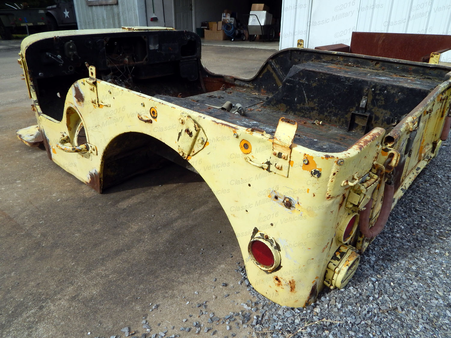 Military Vehicles For Sale >> Willys M38 Body Tub / SOLD | Classic Military Vehicles
