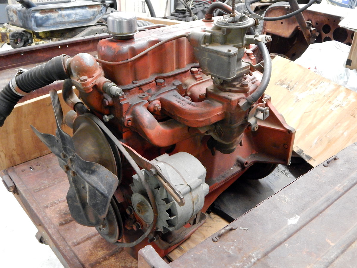 Military Vehicles For Sale >> Chevy 153 Engine | Classic Military Vehicles