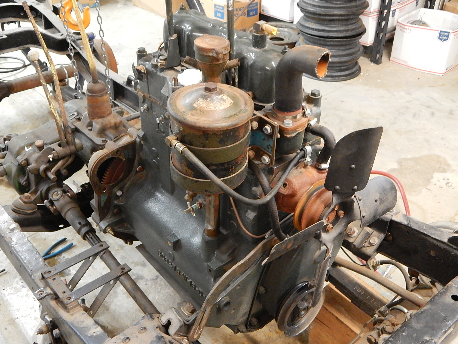 Military Jeeps For Sale >> Willys M38A1 F134 Rebuilt Jeep Engine | Classic Military Vehicles